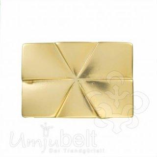 Gürtelschnalle REAL EDGE SATIN GOLD