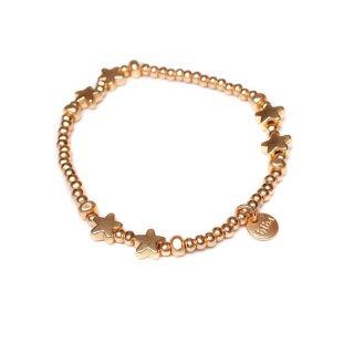 biba Armband Sterne goldfarben
