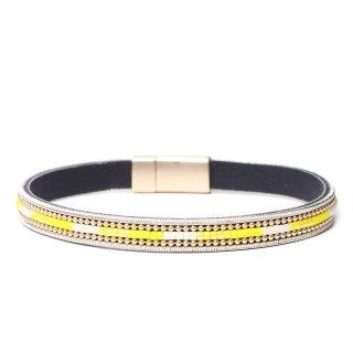 biba Armband mit Magnetverschluss gelb