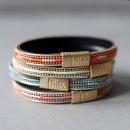 biba Armband mit Magnetverschluss pink