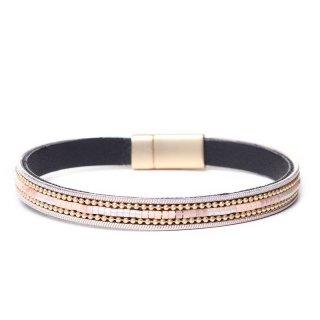 biba Armband mit Magnetverschluss rosa