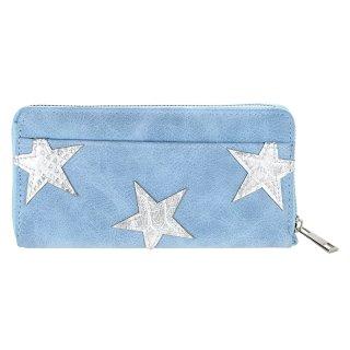 Portemonnaie STERNE blau