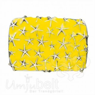 Gürtelschnalle RAINING STARS YELLOW
