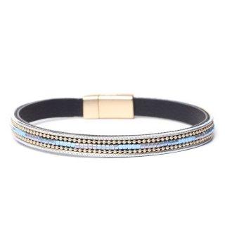 biba Armband mit Magnetverschluss blau