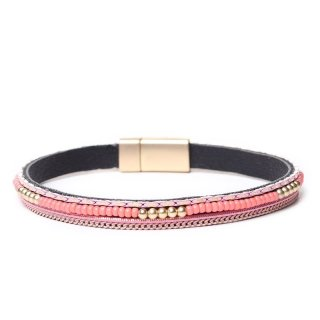 biba Armband mit Magnetverschluss rosé