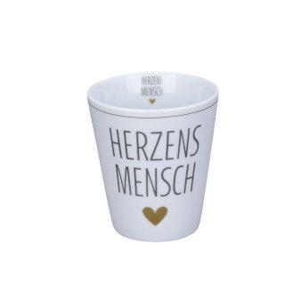 KRASILNIKOFF HAPPY MUG / BECHER HERZENSMENSCH