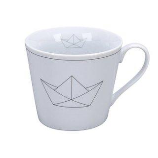 KRASILNIKOFF HAPPY CUP / Henkelbecher PAPERBOAT