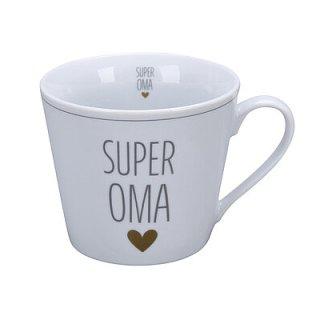 KRASILNIKOFF HAPPY CUP / Henkelbecher SUPER OMA