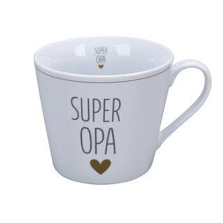 KRASILNIKOFF HAPPY CUP / Henkelbecher SUPER OPA
