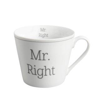 KRASILNIKOFF HAPPY CUP / Henkelbecher MR. RIGHT
