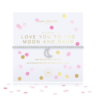 Joma Jewellery LOVE YOU TO THE MOON AND BACK