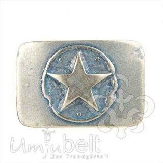 Gürtelschnalle ONE STAR jeansblau