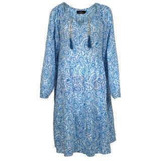 ZWILLINGSHERZ Kleid LUNA Blau