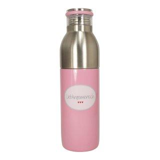 """Thermoflasche """"Lieblingsmensch"""" rosa"""