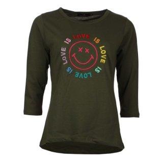 ZWILLINGSHERZ Shirt JANICE khaki