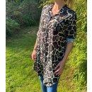 Kleid / Tunika mit Animal-Print
