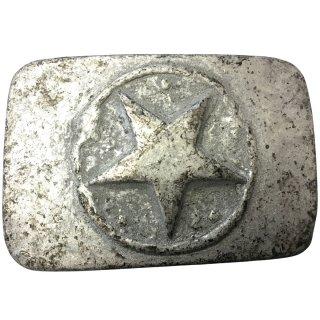 Gürtelschnalle ONE STAR grau