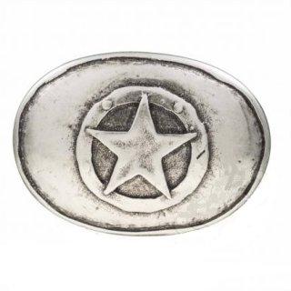 Gürtelschnalle OVAL STAR