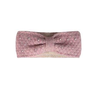 ZWILLINGSHERZ Stirnband PERLEN rosa