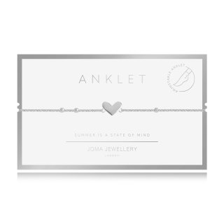 Joma Jewellery ANKLET HEART