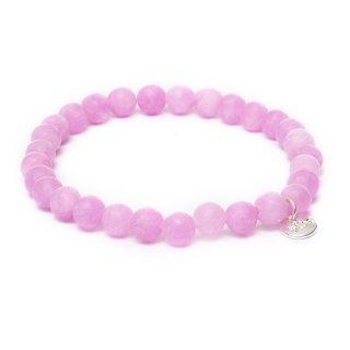 biba Armband Naturstein pink