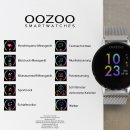 OOZOO Smartwatch SILVER Metall