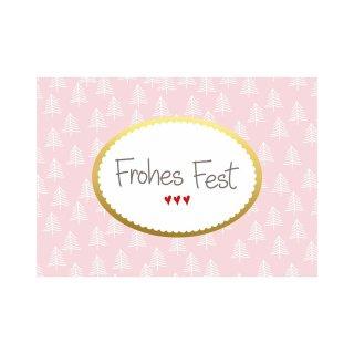 Postkarte FROHES FEST