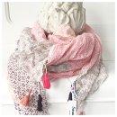 Traumhaftes Tuch aus Bio-Baumwolle