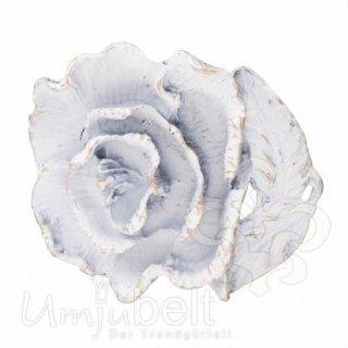 Gürtelschnalle ROSE WHITE