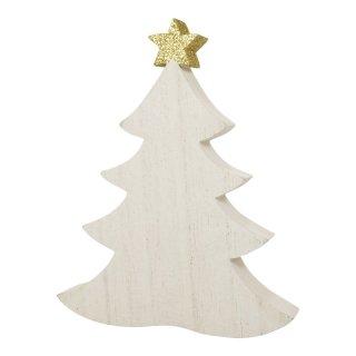 Tannbaum aus Holz mit Stern