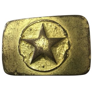Gürtelschnalle ONE STAR gold